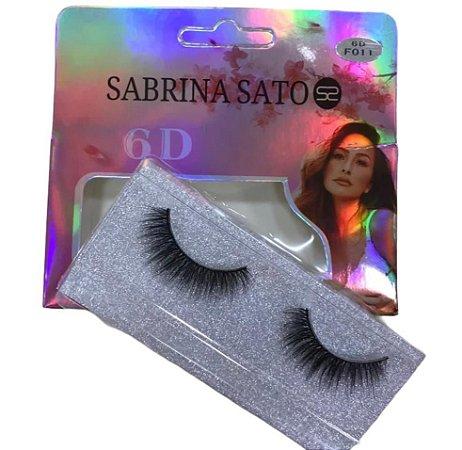 Cílios Postiços 6D Sabrina Sato Modelo F011 SS803