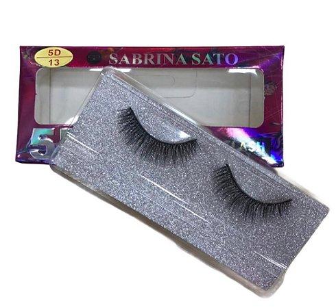 Cílios Postiços 5D Sabrina Sato Modelo 13 SS713
