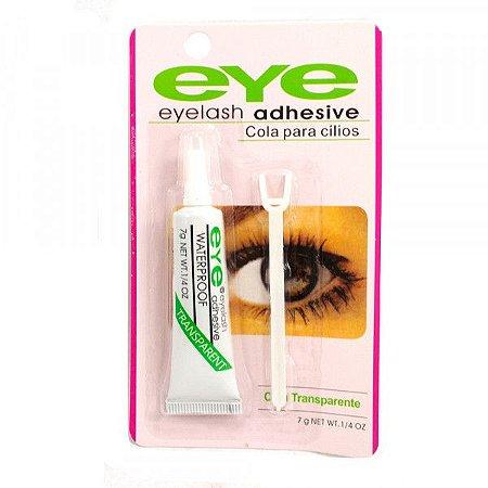 Cola para Cílios Eye Transparente a Prova D'água