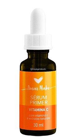 Sérum Primer Vitamina C e Extratos Naturais Amar Make