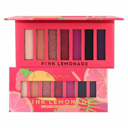 Paleta de Sombras Pink Lemonade Ruby Rose HB1056