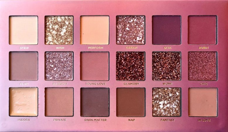 Paleta Soft Nude Ruby Rose HB1045