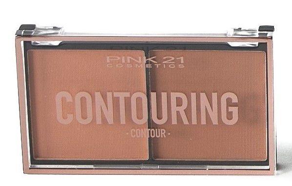 Duo Contorno Contouring Pink 21 Cor 1