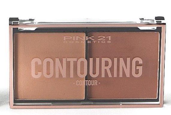 Duo Contorno Contouring Pink 21 Cor 2