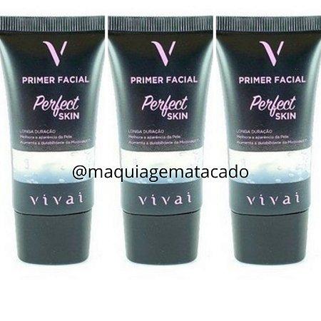 Kit 03 Unidades Primer Facial Perfect Skin Vivai