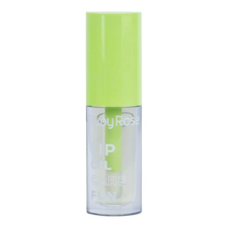 Lip Oil Gloss Labial Hidratante Care Fun Bala de Coco Ruby Rose HB561