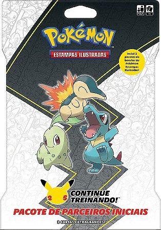 Blister Gigante Pokémon - Johto