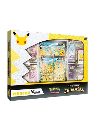 Box Celebrações - Pikachu-V União