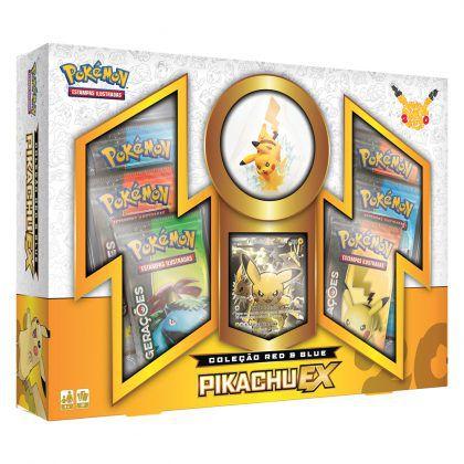 Box Gerações Pikachu EX