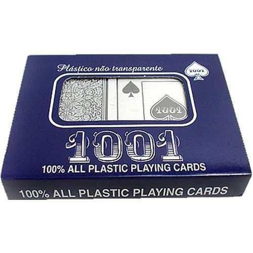 Baralho Plástico 1001 (Estojo com 2 Baralhos)