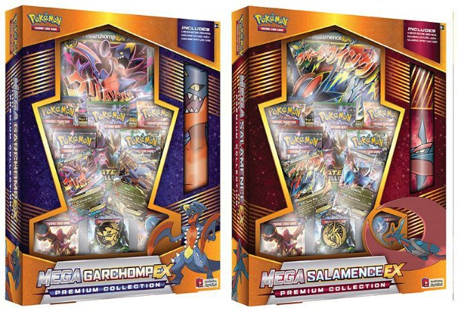 BOX COM PLAYMAT GARCHOMP/SALAMENCE EX