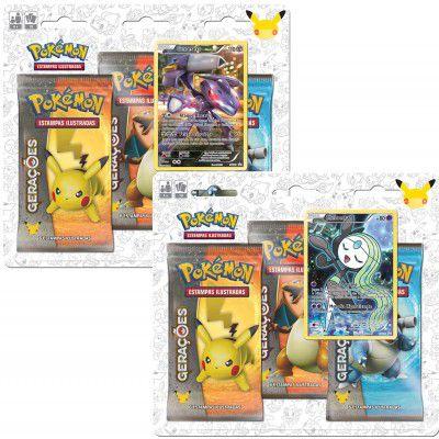 Pokémon - Gerações Pack Triplo - Lote 4
