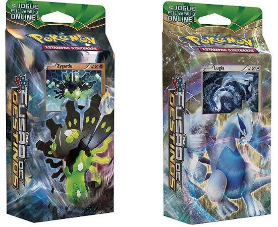 Pokémon - XY10 Fusão de Destinos: Deck Zygarde e Lugia