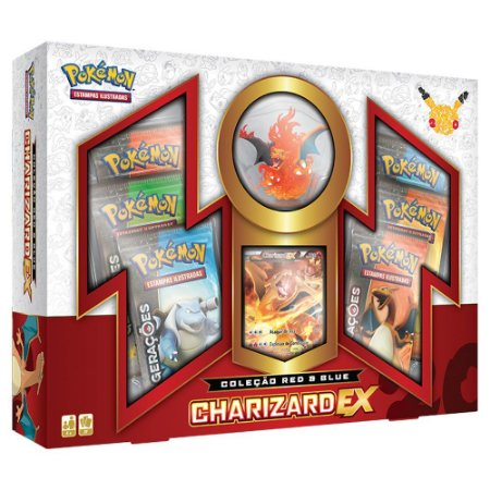 POKÉMON - BOX CHARIZARD EX