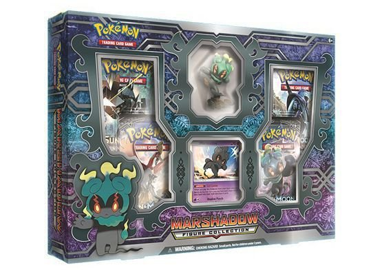 Pokémon - Box Marshadow c/ Miniatura