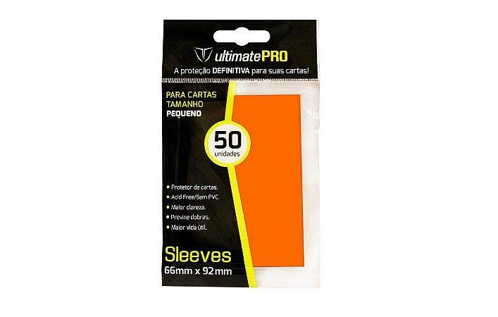 Protetor de Cartas - Ultimate-Pro Laranja