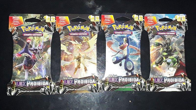 Pokémon Blister Unitário Sol e Lua 6 - Luz Proibida