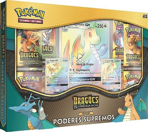 Pokémon - Box Coleção Poderes Supremos - Dragões Soberanos