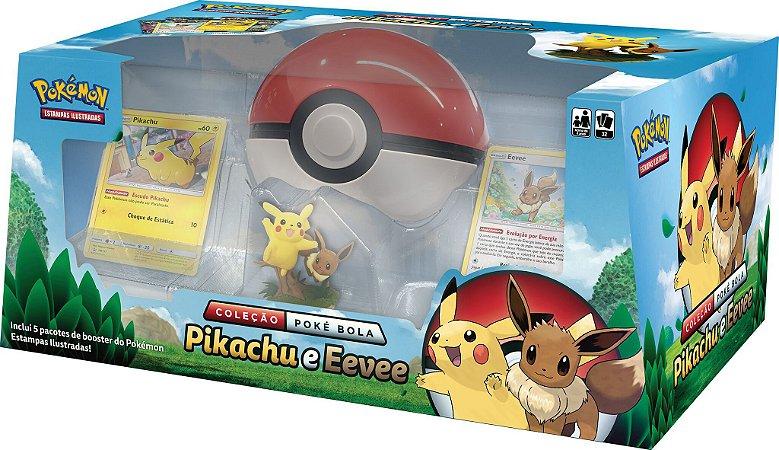 Coleção Pokébola - Pikachu e Eevee