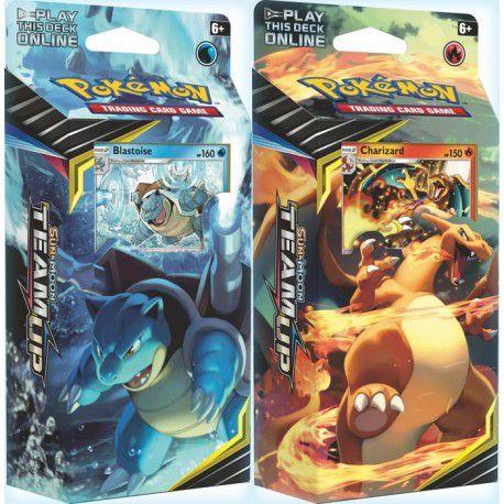 Pokémon - KIT 2 Decks Sol e Lua 9 - União de Aliados