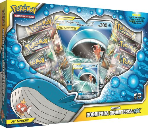 Pokémon - Box Borrifada Gigantesca GX