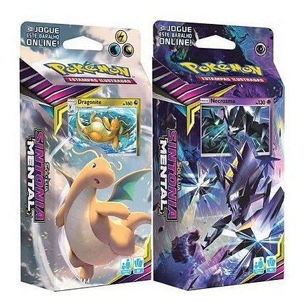 Pokémon - KIT 2 Decks Sol e Lua 11 - Sintonia Mental