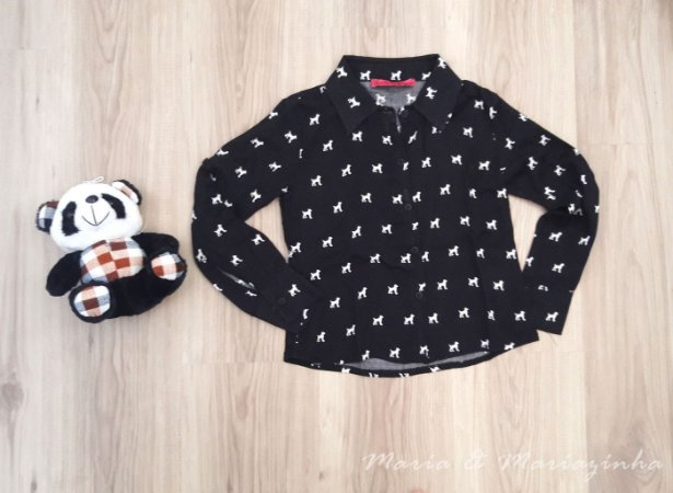 Camisa Cachorrinho Infantil