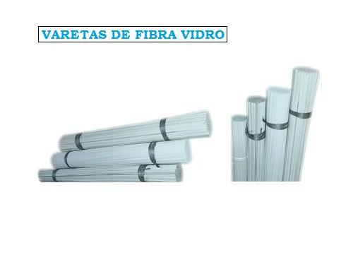 Varetas de Fibra Inteiras 1.4 / 1.6 / 1.8 / 2.0 / 2.2 / 2.5 / 2.8 / 3.0 mm c/ 2,05 mts  Feixes de 1,250 / 2,500 KG