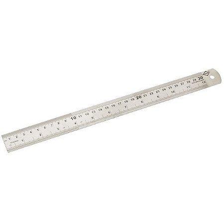 Régua em Aço inox 30 / 60 / 100 cm