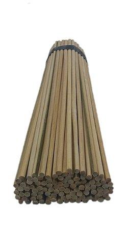 Vareta de Bambu 22 cm / 4.0 mm p/ Artesanato