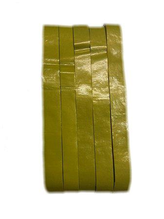 Fitas de Plástico p/ Copa do Mundo  Amarelo pct c/ 500 gramas