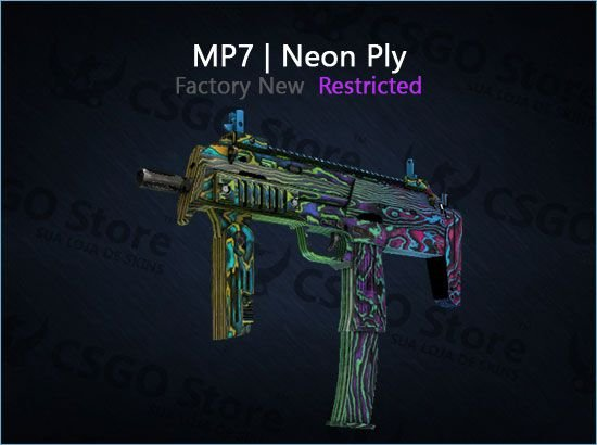 MP7   Neon Ply (Factory New)
