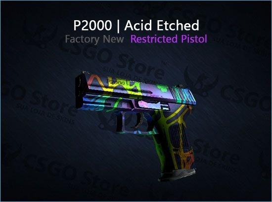 P2000   Acid Etched (Factory New)