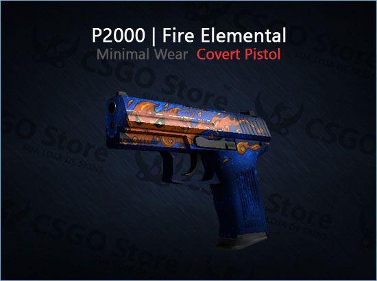 P2000   Fire Elemental (Minimal Wear)
