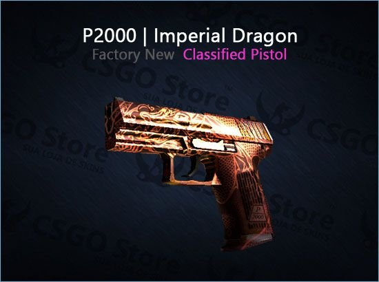 P2000   Imperial Dragon (Factory New)