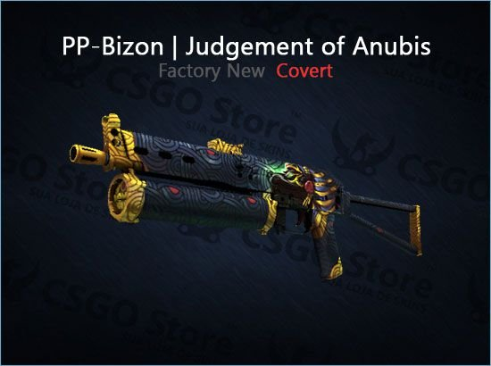 PP-Bizon   Judgement of Anubis (Factory New)