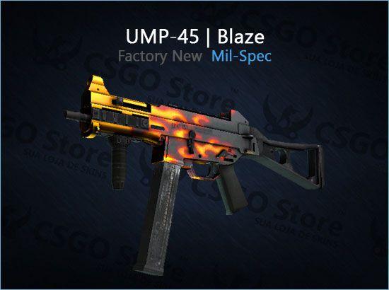 UMP-45   Blaze (Factory New)