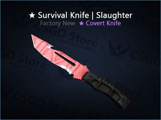 ★ Survival Knife | Slaughter (Factory New)