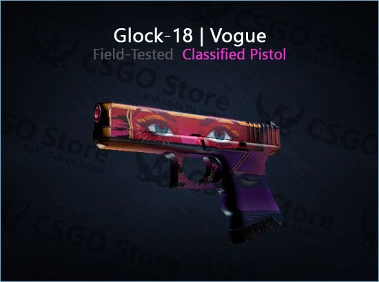 Glock-18 | Vogue (Field-Tested)