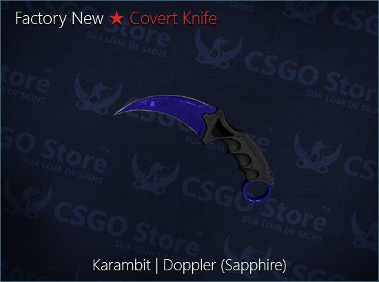 ★ Karambit Doppler | Sapphire