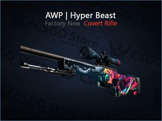 AWP | Hyper Beast (Factory New)