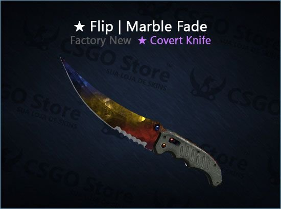 ★ Flip Knife | Marble Fade (Factory New)