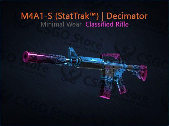 M4A1-S (StatTrak™) | Decimator (Minimal Wear)