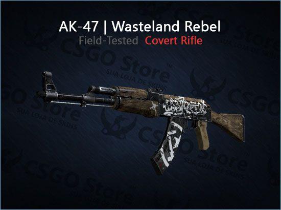 AK-47 | Wasteland Rebel (Field-Tested)
