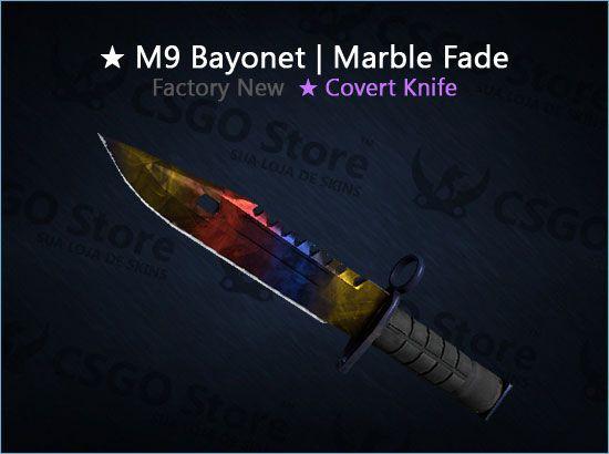 ★ M9 Bayonet | Marble Fade (Factory New)