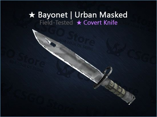 ★ Bayonet | Urban Masked (Field-Tested)