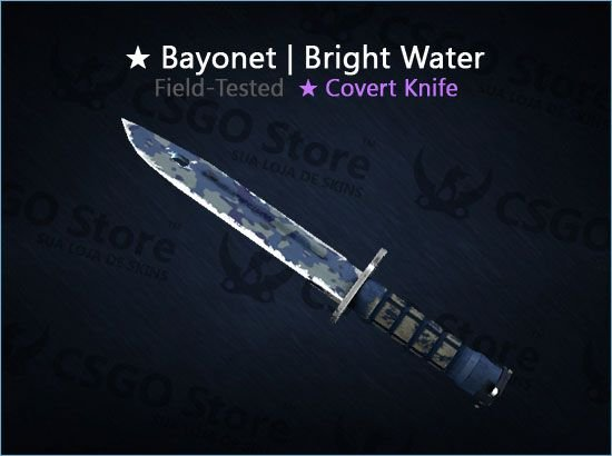 ★ Bayonet | Bright Water (Field-Tested)
