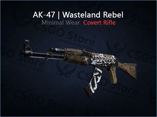 AK-47 | Wasteland Rebel (Minimal Wear)