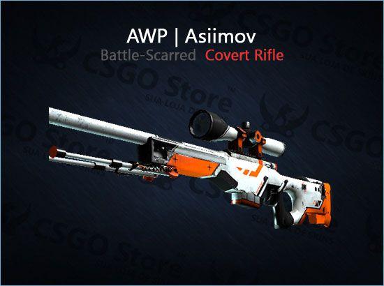 AWP | Asiimov (Battle-Scarred)