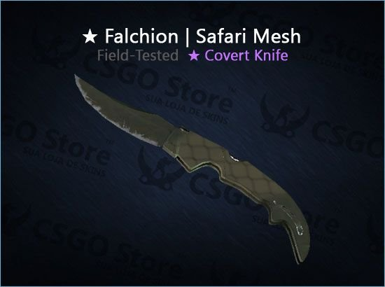 ★ Falchion Knife | Safari Mesh (Field-Tested)